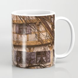 old half-timbered house with restaurant ( Ulm - Fischerviertel ) Coffee Mug