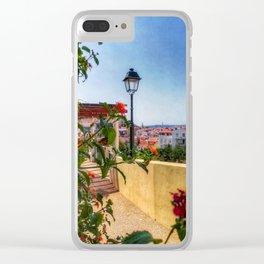 Summer days in Lisbon. Fine Art Photography. Clear iPhone Case