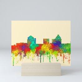 Greenboro North Carolina Skyline - SG Mini Art Print