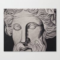 philosophy Canvas Prints featuring Philosophy by Claire Holmgreen
