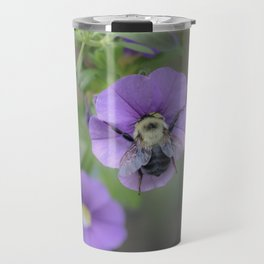 Nature is delicate like a bee's wings Travel Mug