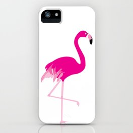 just a flamingo iPhone Case