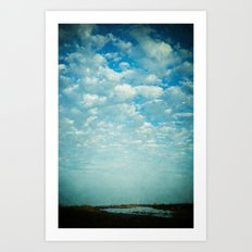 Where Sea and Sky Meet Art Print