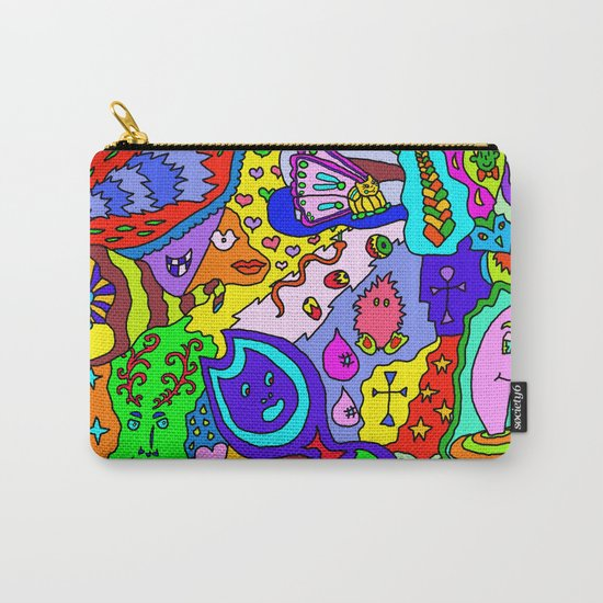 Abstract 24 Carry-All Pouch