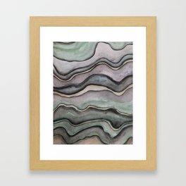 Layers 1 Framed Art Print