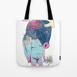 Mr.Minotaur Tote Bag