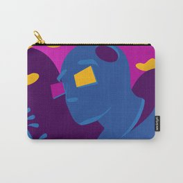 Beyond The Path/Clouds and Mountains/Big Heart Illuminated/Sunset of a Tropical Island Carry-All Pouch