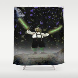 YODA-ling with FORCE - 027 Shower Curtain