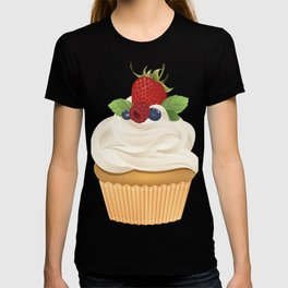 Red Fruit Cupcake T-shirt
