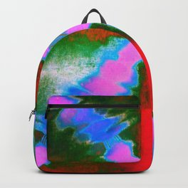 Tie Dye Pattern Backpack