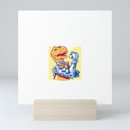 Rex the Riveter Mini Art Print