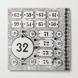 Number 32 Metal Print