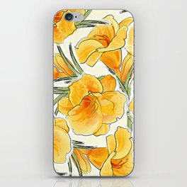 the daylily iPhone Skin