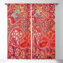 Crimson Tapestry Blackout Curtain