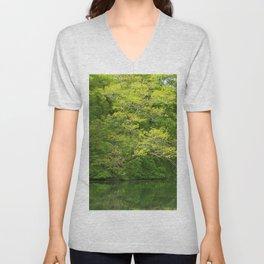 Springgreen Unisex V-Neck