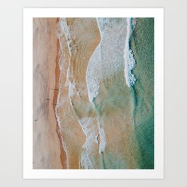 Palm Beach, Australia. Art Print