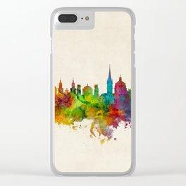 Salzburg Austria Skyline Clear iPhone Case