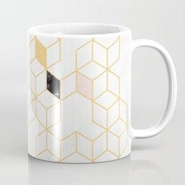 Keziah - Gold & Marble Coffee Mug