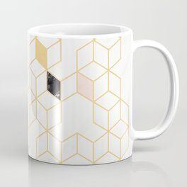 Keziah - Gold & Marble Coffee Mug