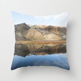 Highlands III Throw Pillow