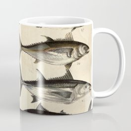 Vintage Illustration of Tunas, Mackerels & Bonitas Coffee Mug