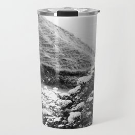 Black and white landscape Travel Mug