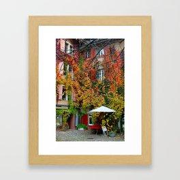 Basel: Courtyard Framed Art Print