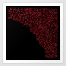 - désert panthéon - Art Print
