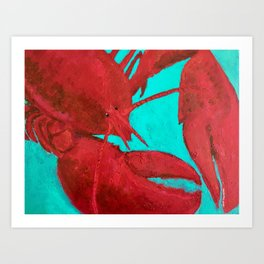 Lobster, Claws for Celebration Art Print