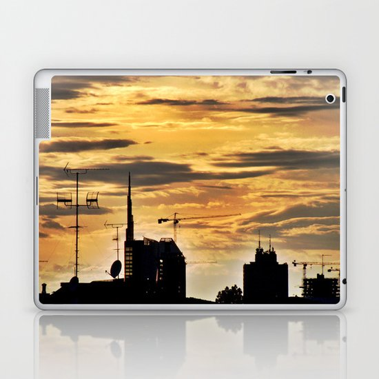 Milano City Skyline {Italy} Laptop & iPad Skin