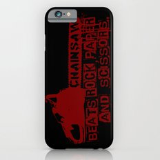 chainsaw wins iPhone 6s Slim Case