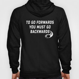 Rugby Go Backwards Quote Hoody