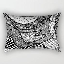 Pattern Tangle Rectangular Pillow