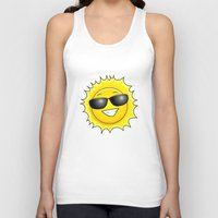 sunglasses Tank Tops featuring sunglasses on by Li-Bro
