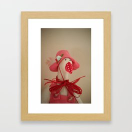 Mrs. Goose Framed Art Print
