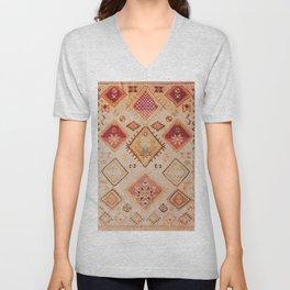 N182 - Sahara Desert Bohemian Moroccan Eclectic Style Unisex V-Neck