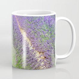 Rows of Lavender Coffee Mug
