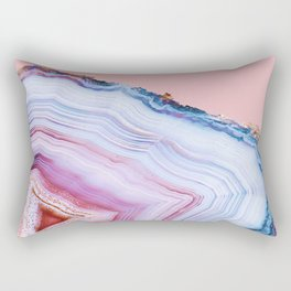 Agate Beauty #Glam collection Rectangular Pillow