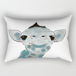 Happy Baby Giraffe Rectangular Pillow