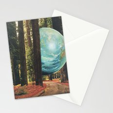 On the run. Stationery Cards
