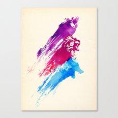 Wild colours Canvas Print