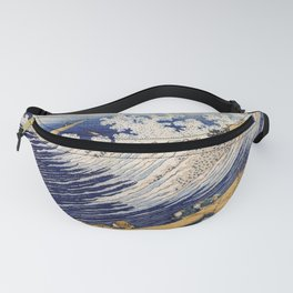 Hokusai's Ocean Wave (High Resolution) Fanny Pack