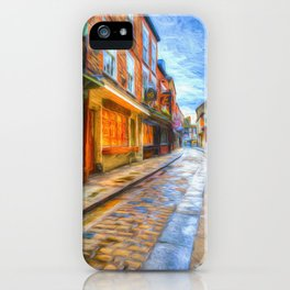 York Shambles Art iPhone Case