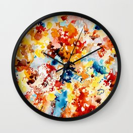 Cool Intense Wall Clock
