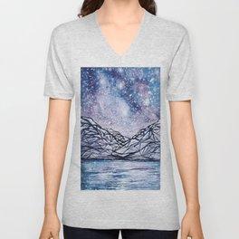 Rockies Under the Stars Unisex V-Neck