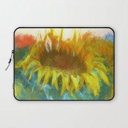 Sunflower Glow Artwork Laptop Sleeve