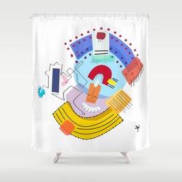 weekend Shower Curtain