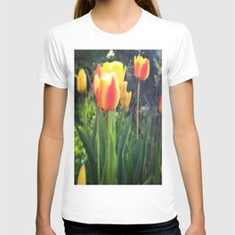 Spring Tulips in Bloom T-shirt