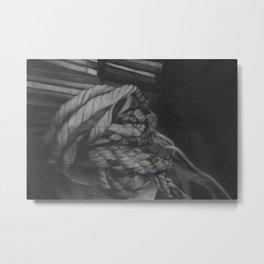 Rope Metal Print