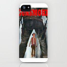 Gunsmoke iPhone Case